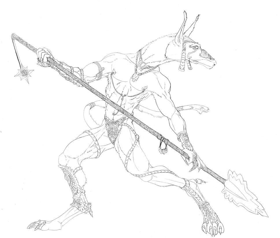 Anubis Strikes by Qilong