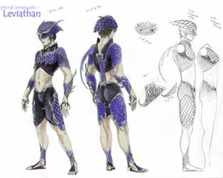 Primal Armors - Leviathan