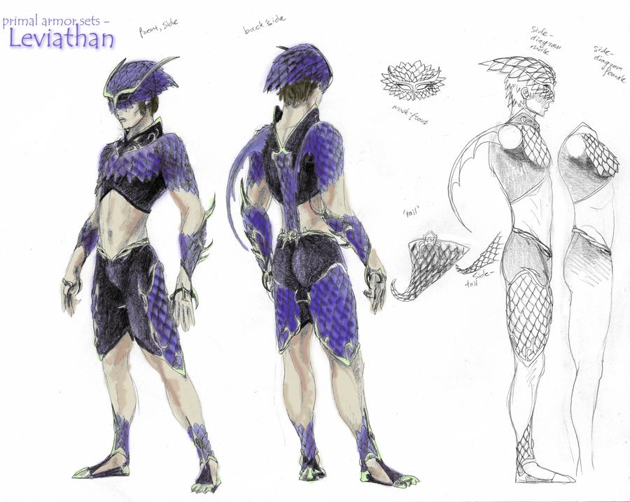 Primal Armors - Leviathan by Qilong