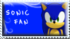 Sonic Fan Stamp by Fastmon