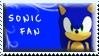 Sonic Fan Stamp by Fastmon