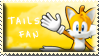 Tails Fan Stamp by Fastmon