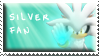 Silver Fan Stamp by Fastmon