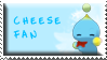 Cheese The Chao Fan Stamp by Fastmon