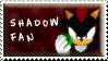 Shadow Fan Stamp