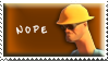 Nope Stamp by Fastmon