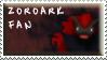 Zoroark Fan Stamp by Fastmon