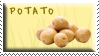 Potato Stamp by Fastmon