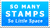So Little Space Stamp by Fastmon