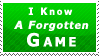 Forgotten Game Stamp by Fastmon
