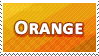 Orange Colour Stamp by Fastmon