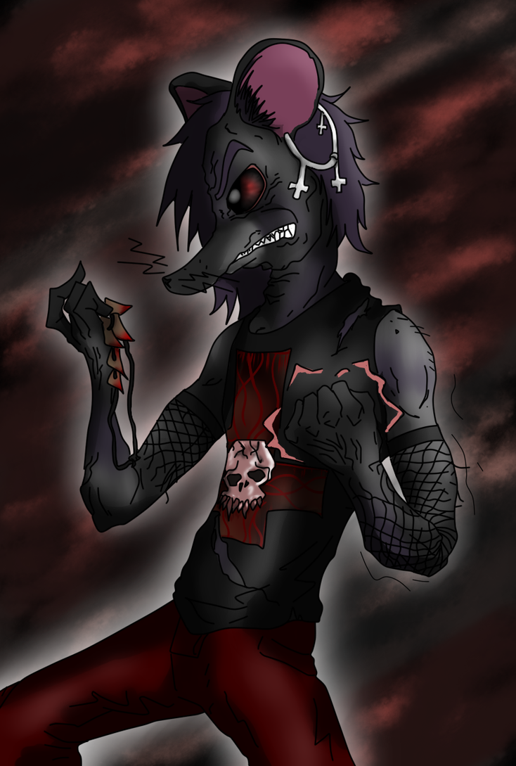Bloody Angry Syliss (Now in color) by SpeakEvil