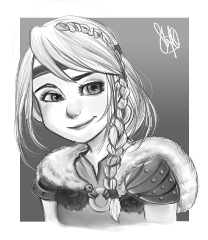 Astrid by li-jean