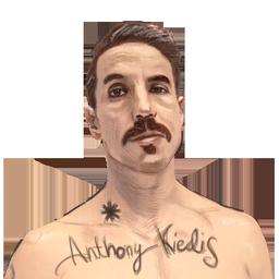 Anthony Kiedis - RHCP by Archer120