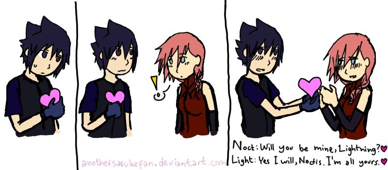 Noct's Valentine by AnotherSasukeFan