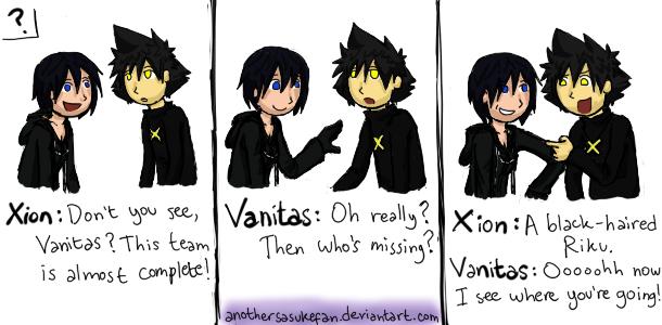 Xion And Vanitas Team By Anothersasukefan On Deviantart