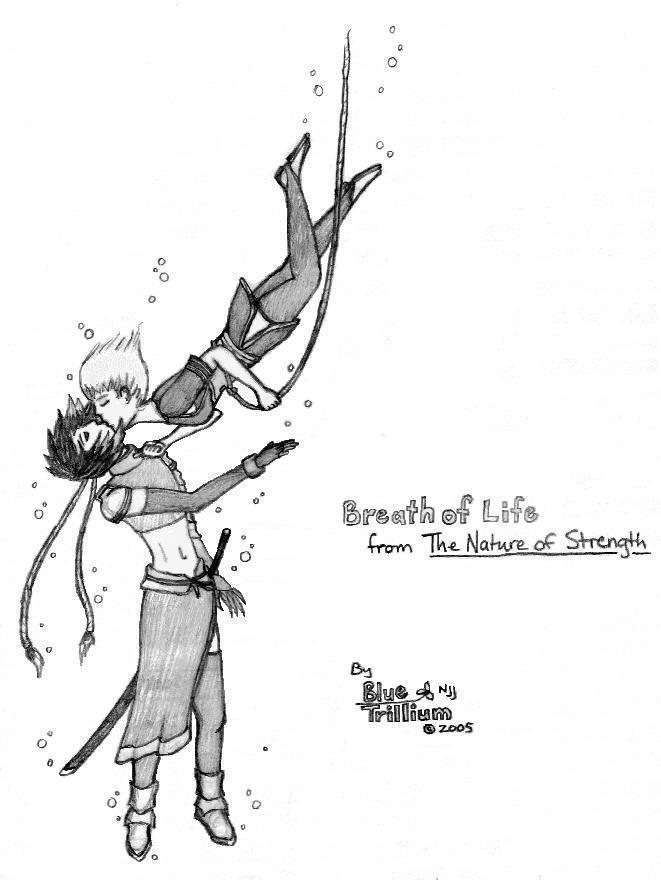 Breath of Life - grayScale by BlueTrillium