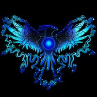 Blue Phoenix Graphic Logo by Khrestos