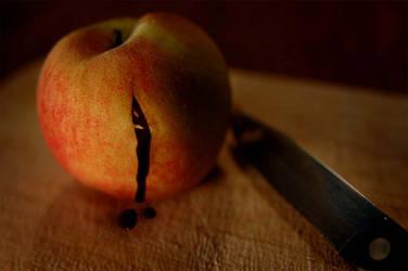 peach flesh by lizzybee