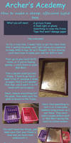 How to make a super cheap light box by ArcherKasai