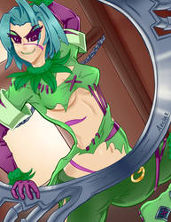 Tira - Soul Calibur (NSFW Version Available) by ArcherKasai