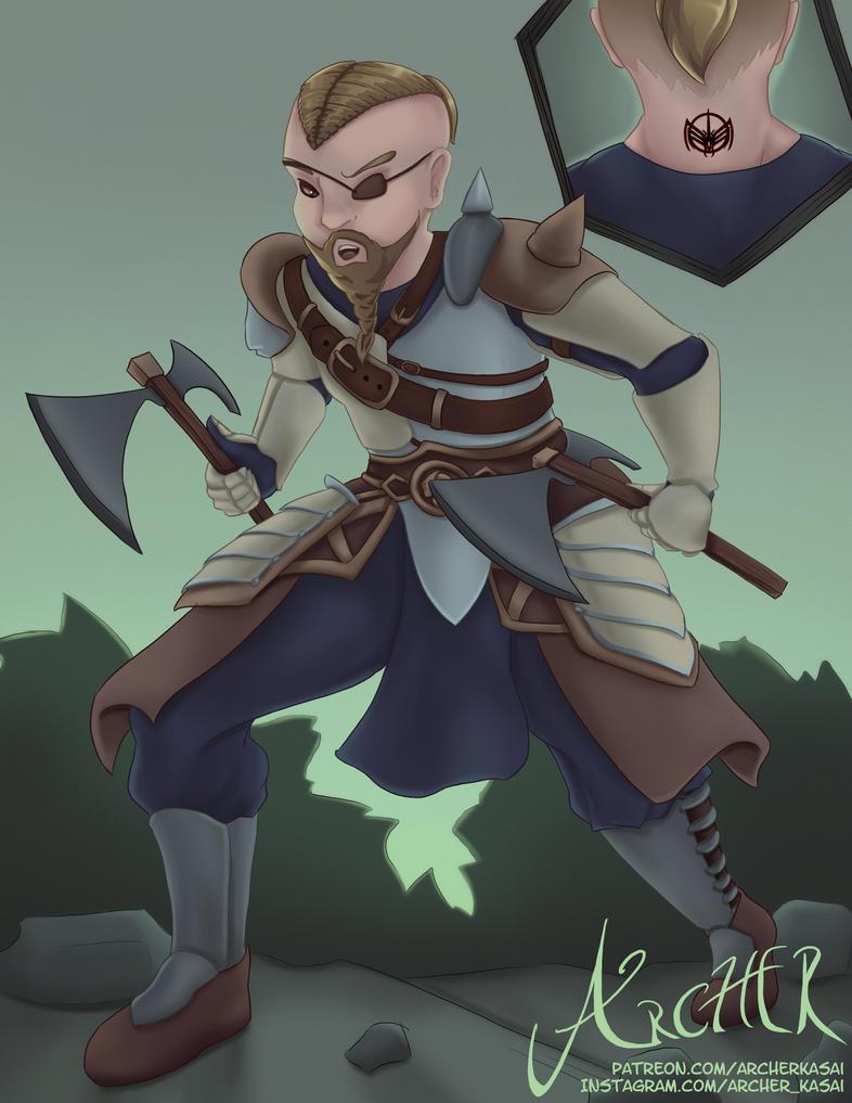 Elder Scrolls Online by ArcherKasai