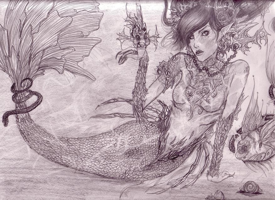 Mermaid by Loserbabooser