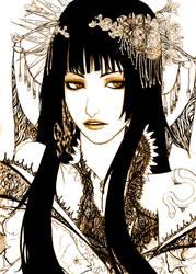 Yuko Fanart by Loserbabooser