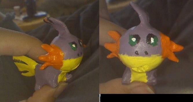 shiny mudkip by BunnyStark