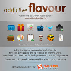 addictive flavour iconset