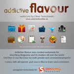 addictive flavour iconset