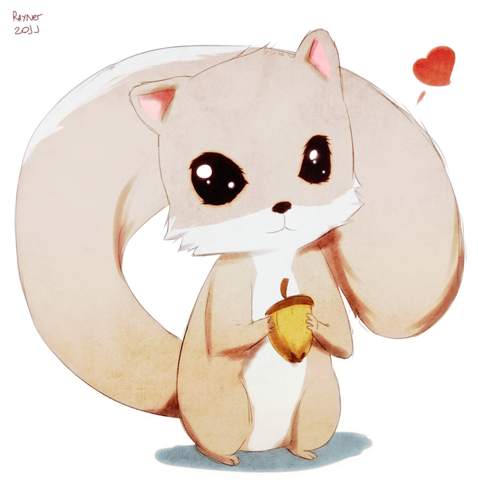 Squirrel by RaynerAlencar