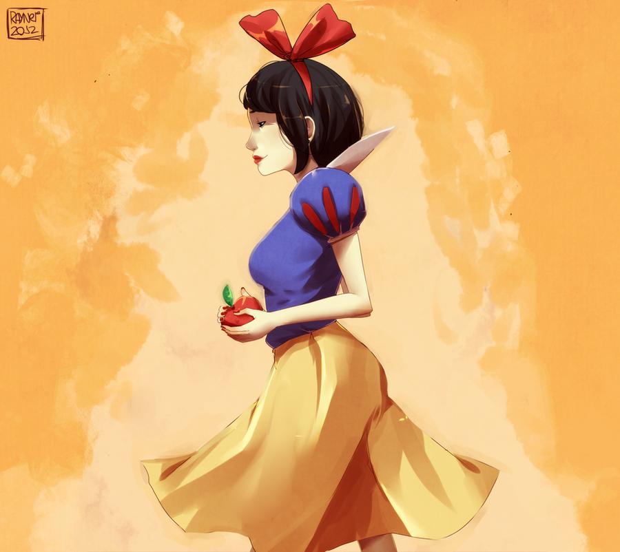 Snow white by RaynerAlencar