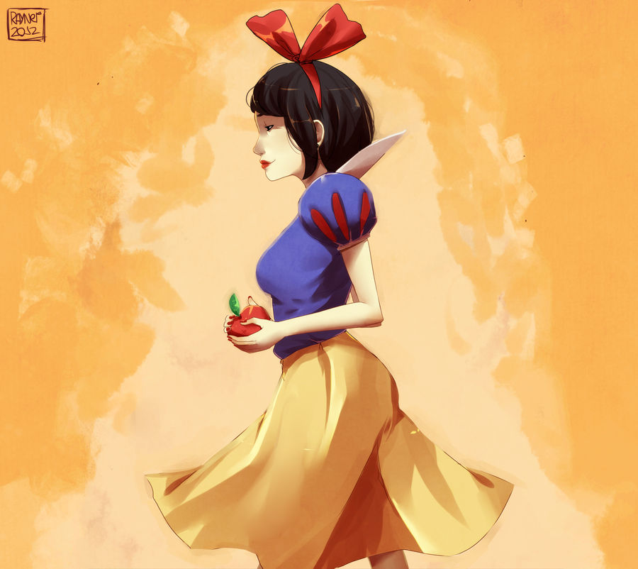 Snow white by RaynerAlencar