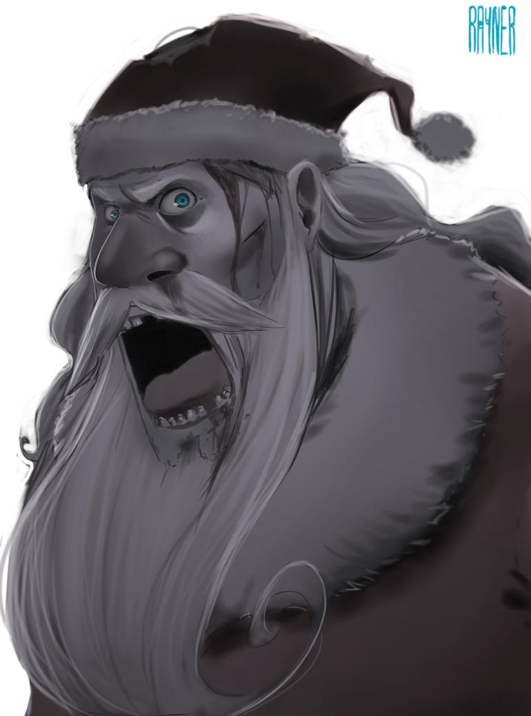 Don`t shoot me Santa by RaynerAlencar