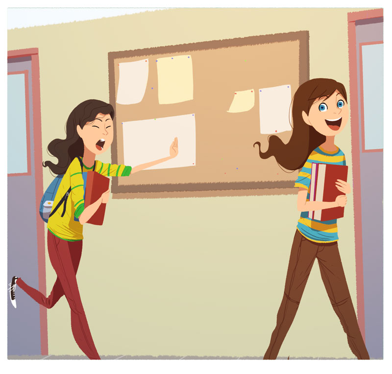 SchoolGirls by RaynerAlencar
