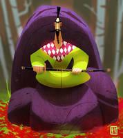 Samurai teiteiro by RaynerAlencar