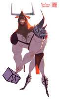 Minotauro by RaynerAlencar