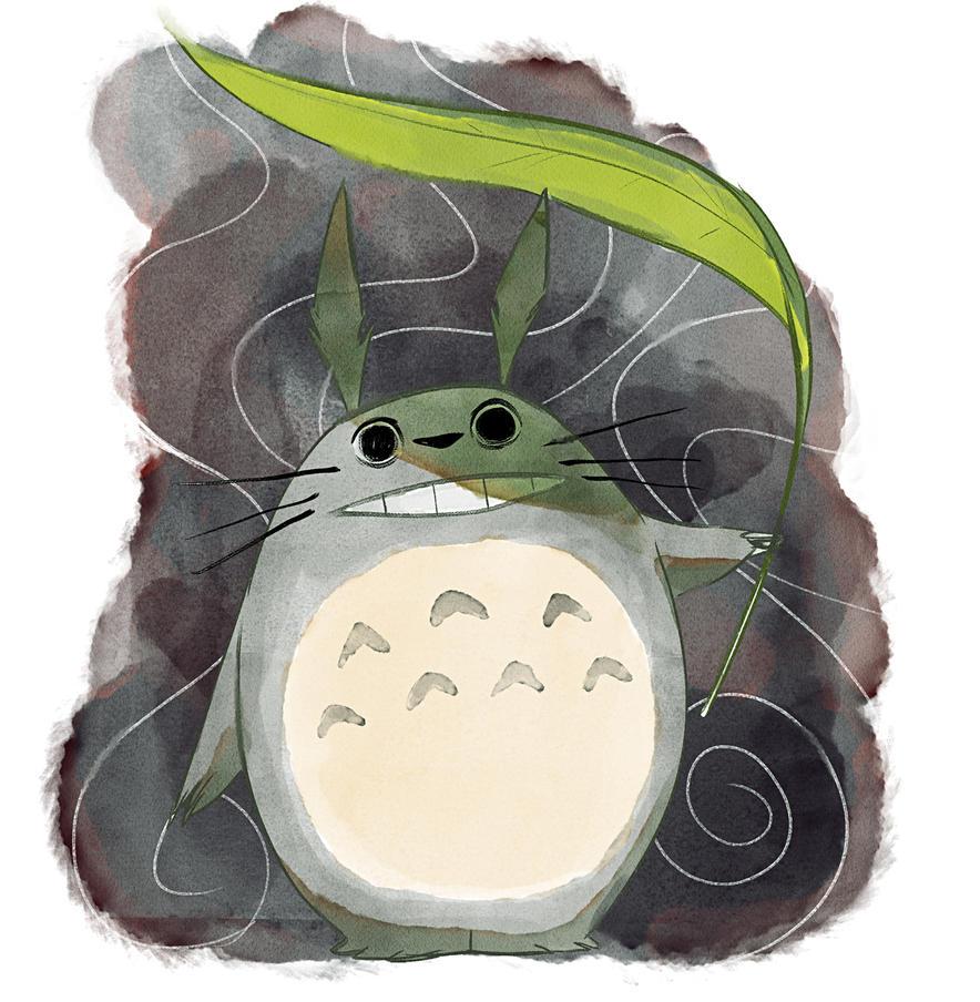 Tonari no Totoro by RaynerAlencar