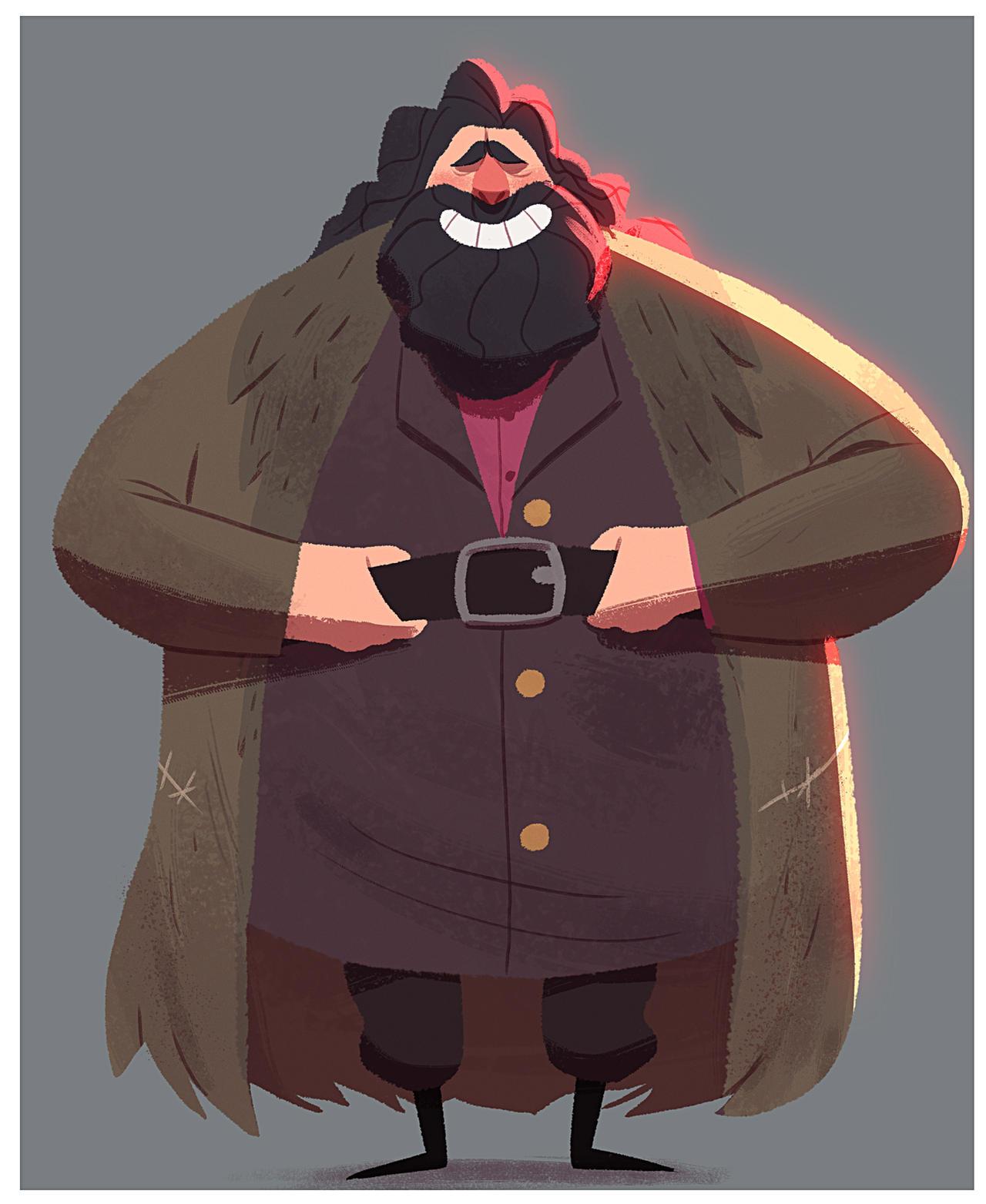 Hagrid by RaynerAlencar