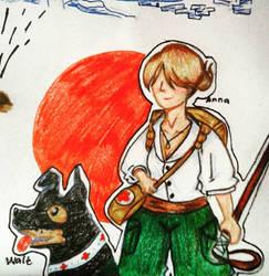 Anna and Walt from Valiant Hearts by Eriiza99