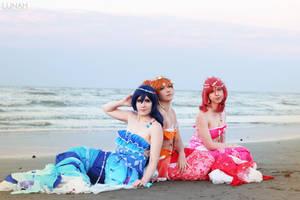 Mermaid Festa - Love Live! by OrchidOracle