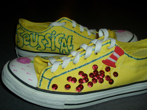 Seussical Shoes by ChadMcChadpants