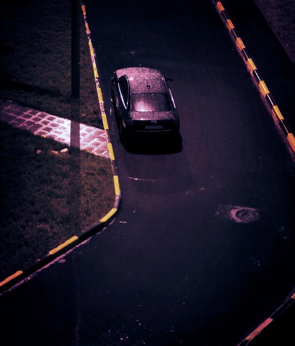 Rain in the city by Adisson