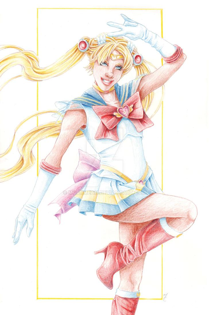 Sailor Moon by MCarmean