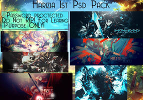 1st PSD Pack! by HaRiZiA