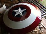 Captain America Cosplay Shield by Pako-X
