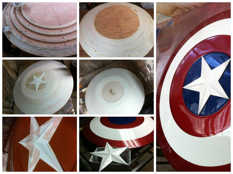 Captain America Shield By Pako X On Deviantart
