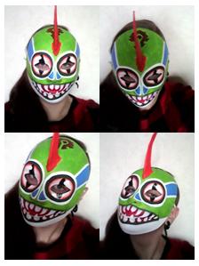 Murloc Mask Finished by CorbeauBleu