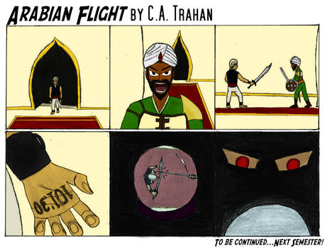 Arabian Flight Part 3